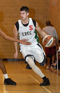 Mark Denchfield scored 24 points that included four treys.